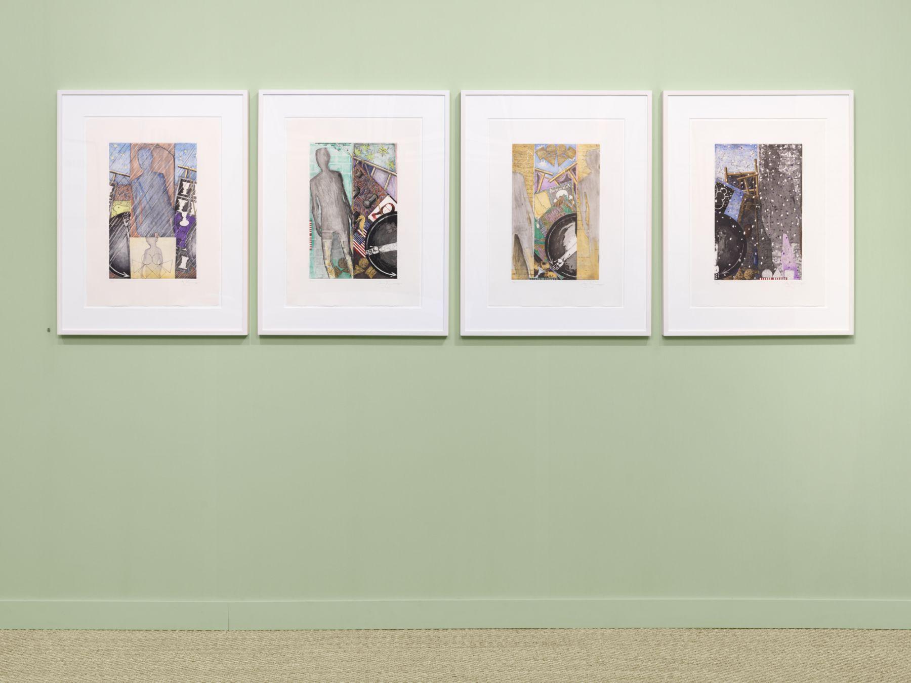 The IFPDA Print Fair 20119 at the Susan Sheehan Gallery