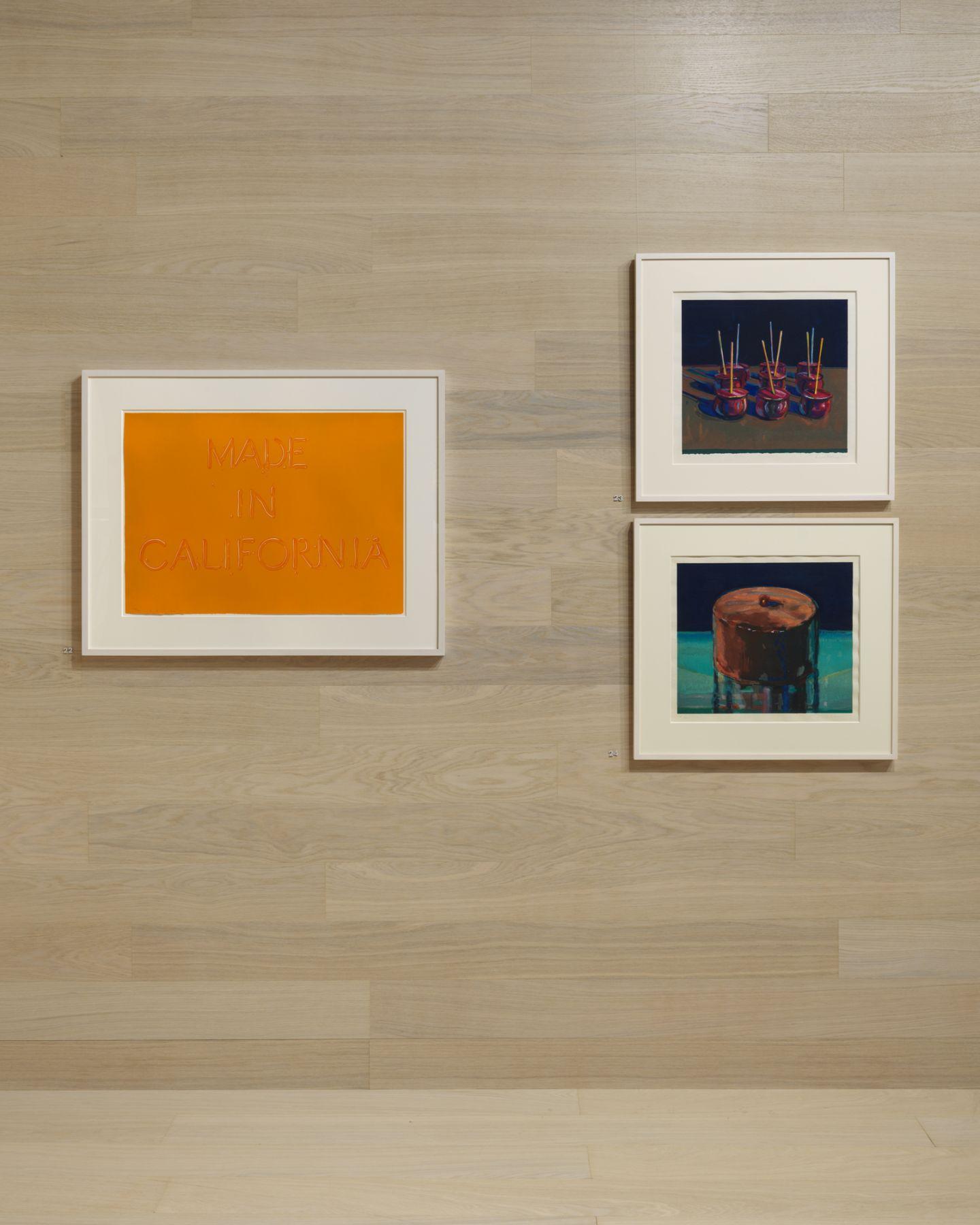 The Art Basel Miami Beach 2019 display at Susan Sheehan Gallery