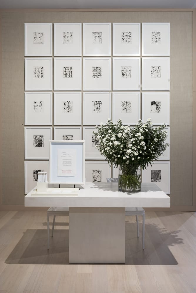 The Art Basel 2018 Artfair at the Susan Shehaan gallery.