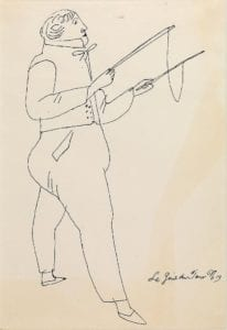 Costumed Figure, ca.1955