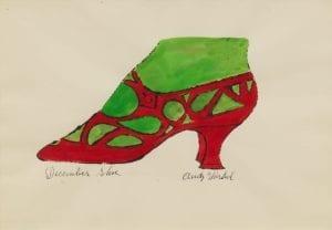 December Shoe, ca. 1955