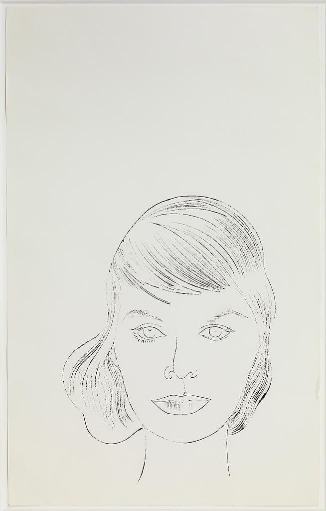 Female Head, ca. 1957
