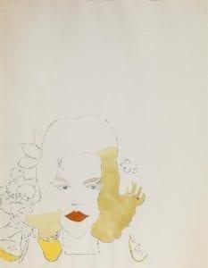 Female Head, ca. 1956