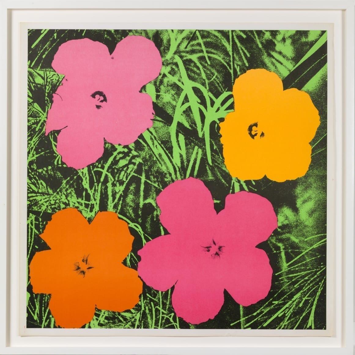 Flowers, 1964 Medium: Offset lithograph