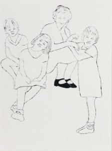 Four Girls, ca.1957