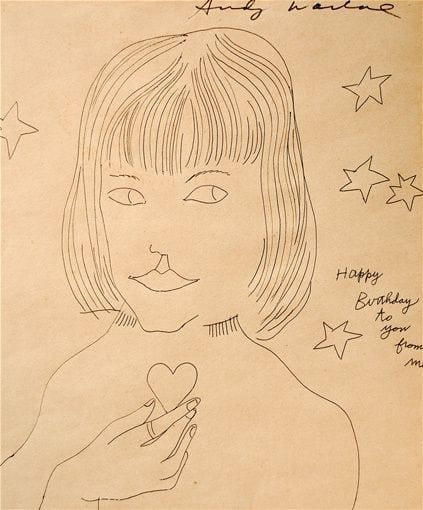 Happy Birthday to You from Me, circa 1954