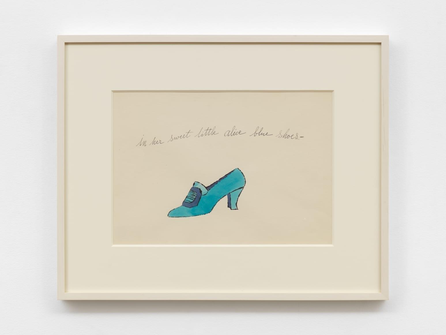In Her Sweet Little Alice Blue Shoes, 1955