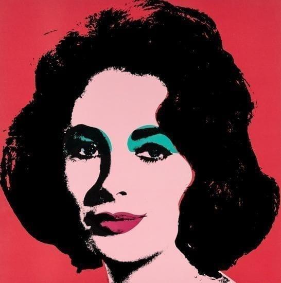 Andy Warhol, Liz, 1964, Offset lithograph
