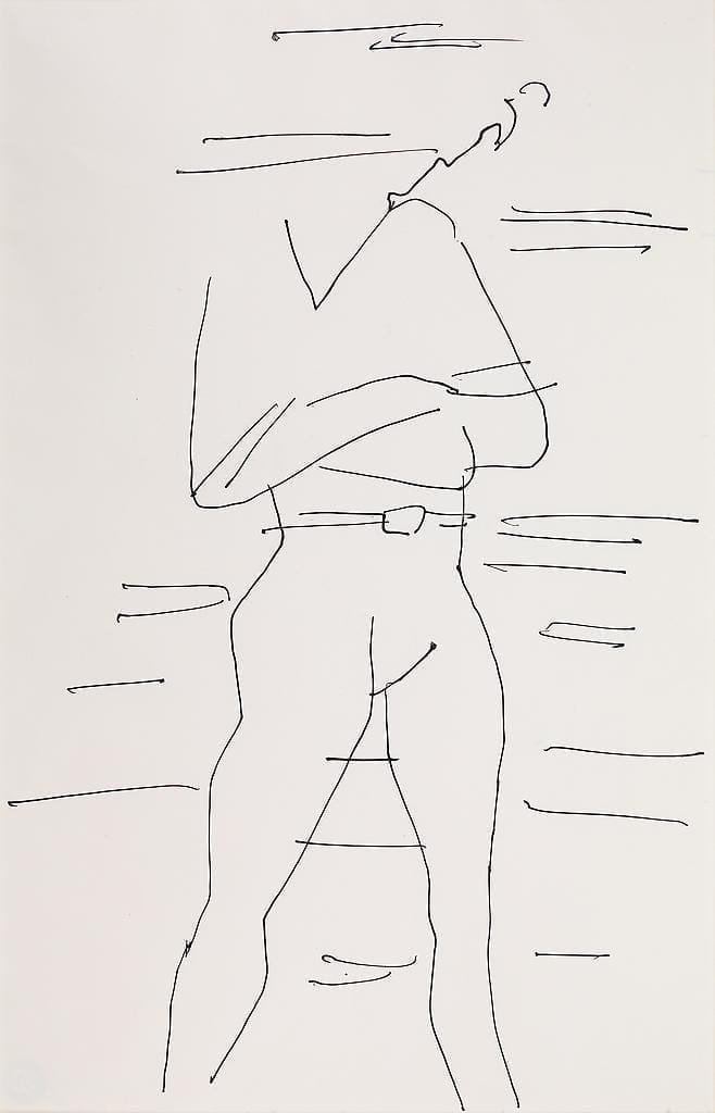 Male Dancer (with Crossed Arms), ca.1952