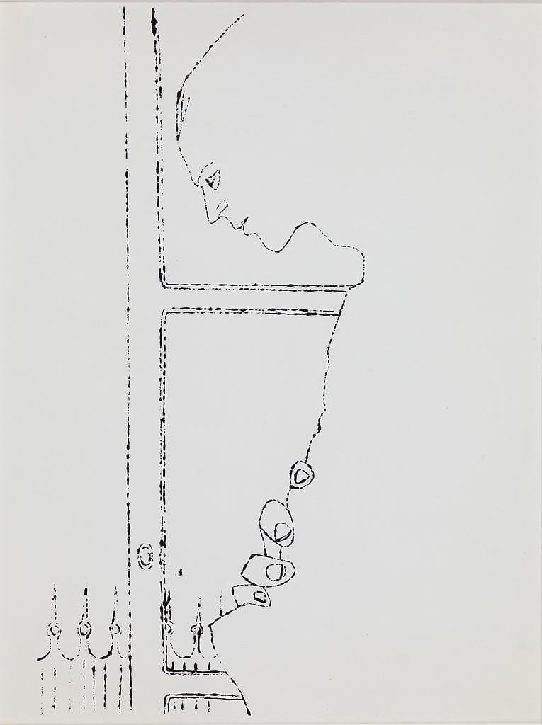 Profile Upper Torso, ca. 1957