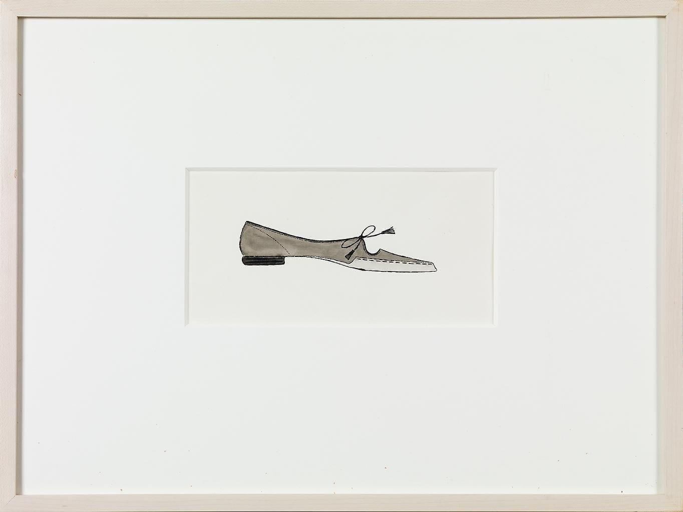 Shoe, circa 1957