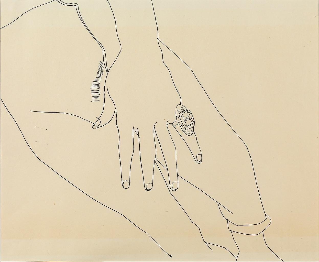 Torso with Hand, ca. 1955