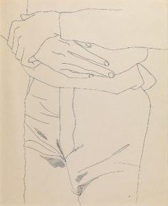 Unidentified Male (Torso w/ hands), circa 1957
