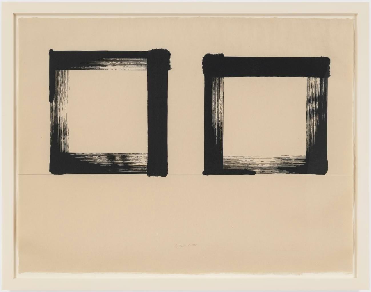 Untitled 1983 Medium: Screenprint on Japanese handmade paper