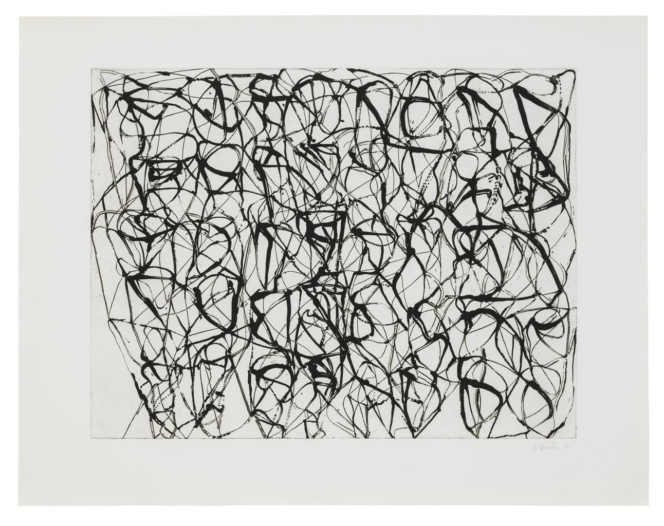 Zen Studies 1-6: Plate 4 (Early State), 1990