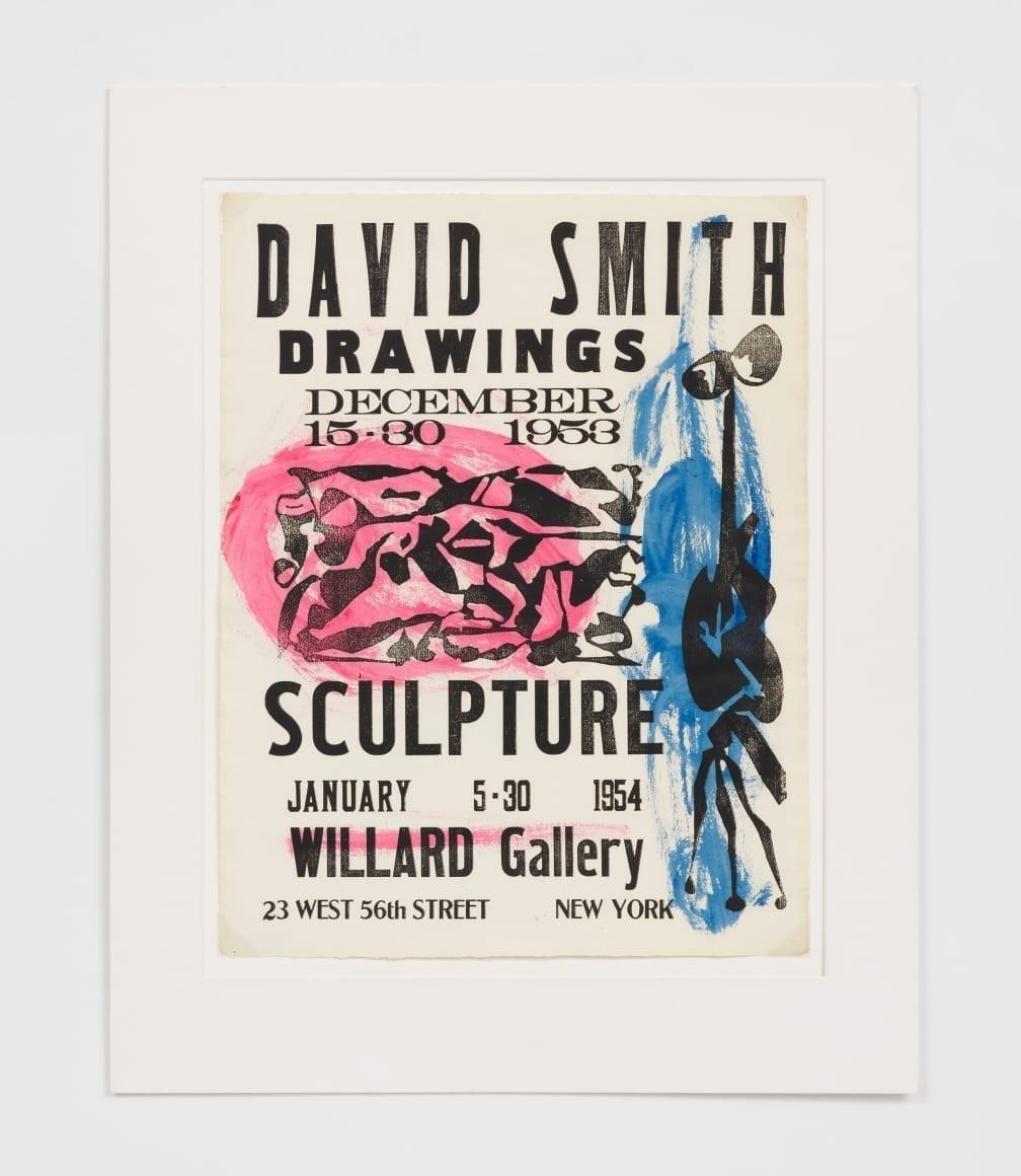 Willard Gallery Poster, 1953