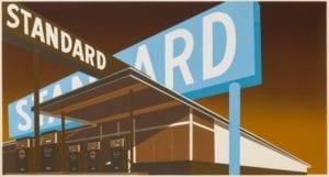 Edward Ruscha, Double Standard, 1969, Screenprint