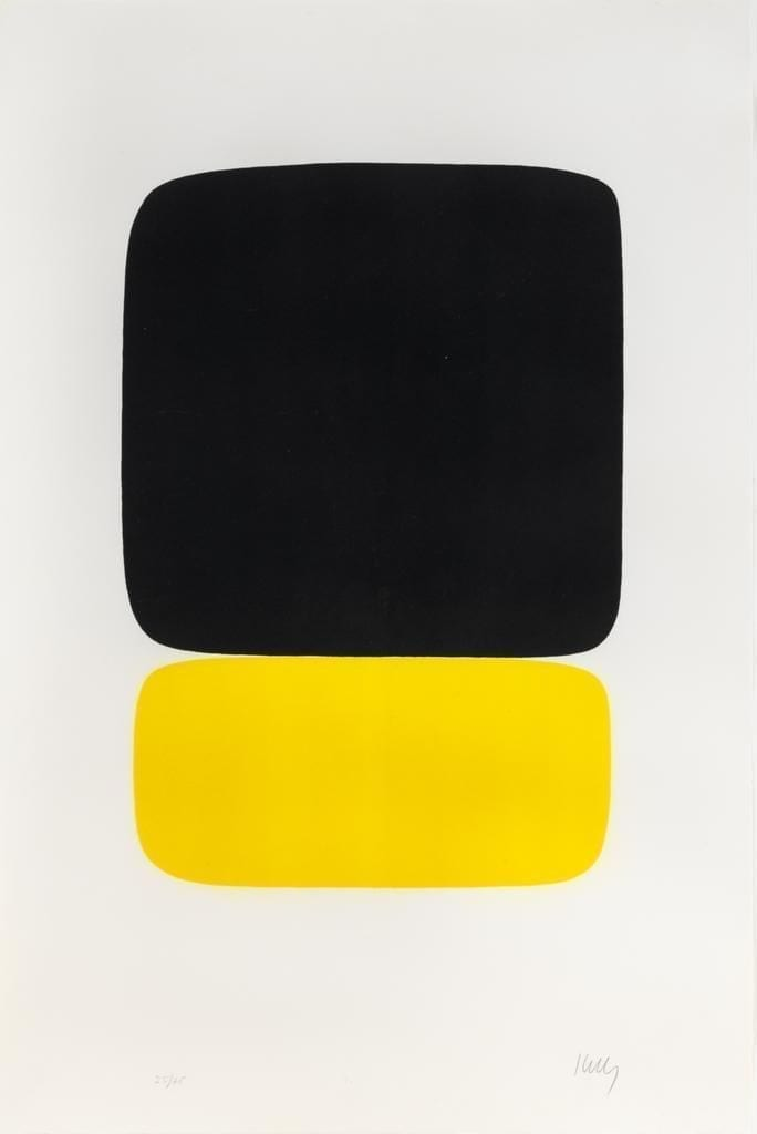 Black over Yellow, 1964-65