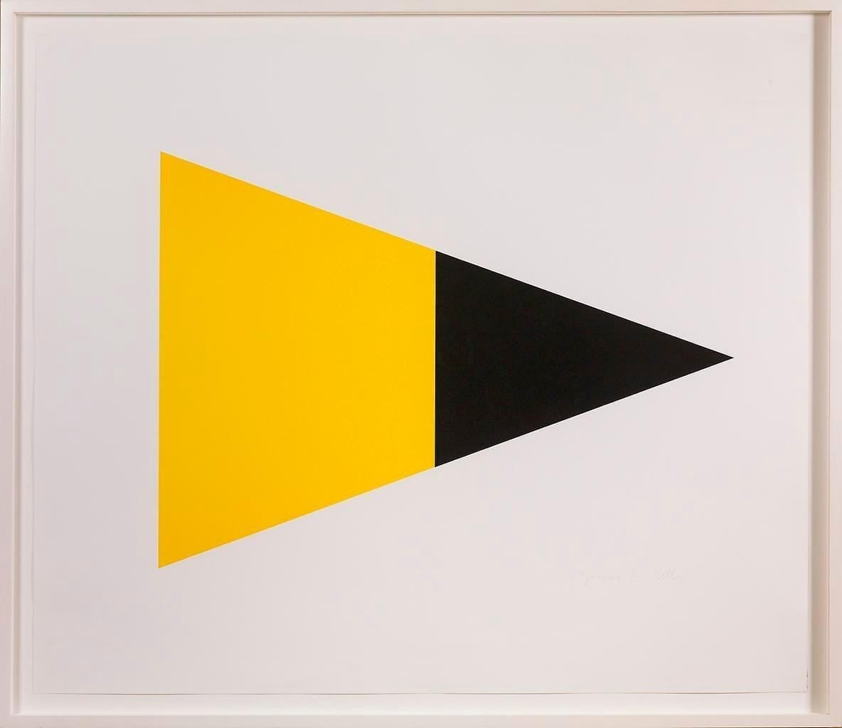 Black/Yellow 1970-72 Medium: Lithograph