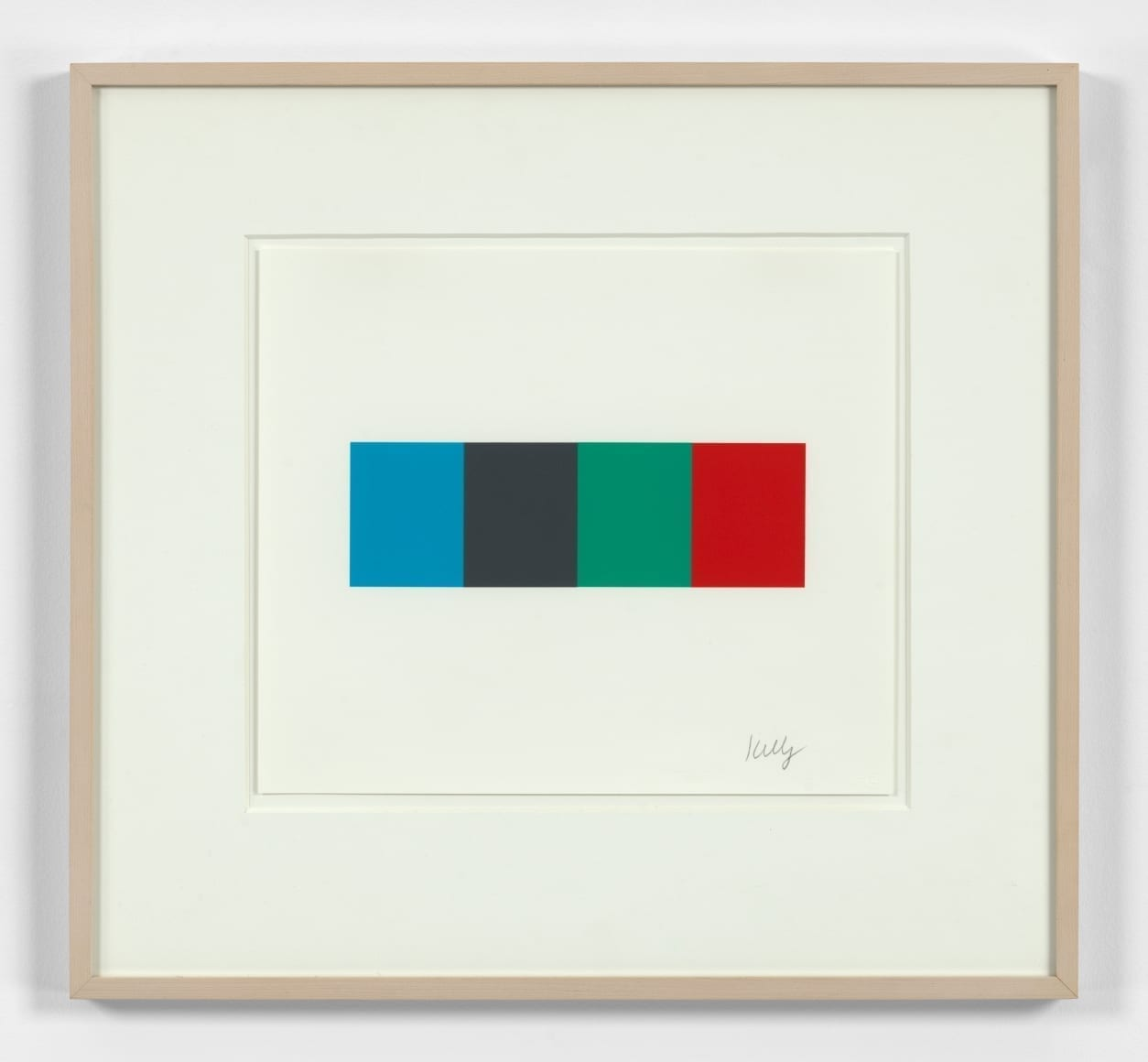Blue Gray Green Red, 2008