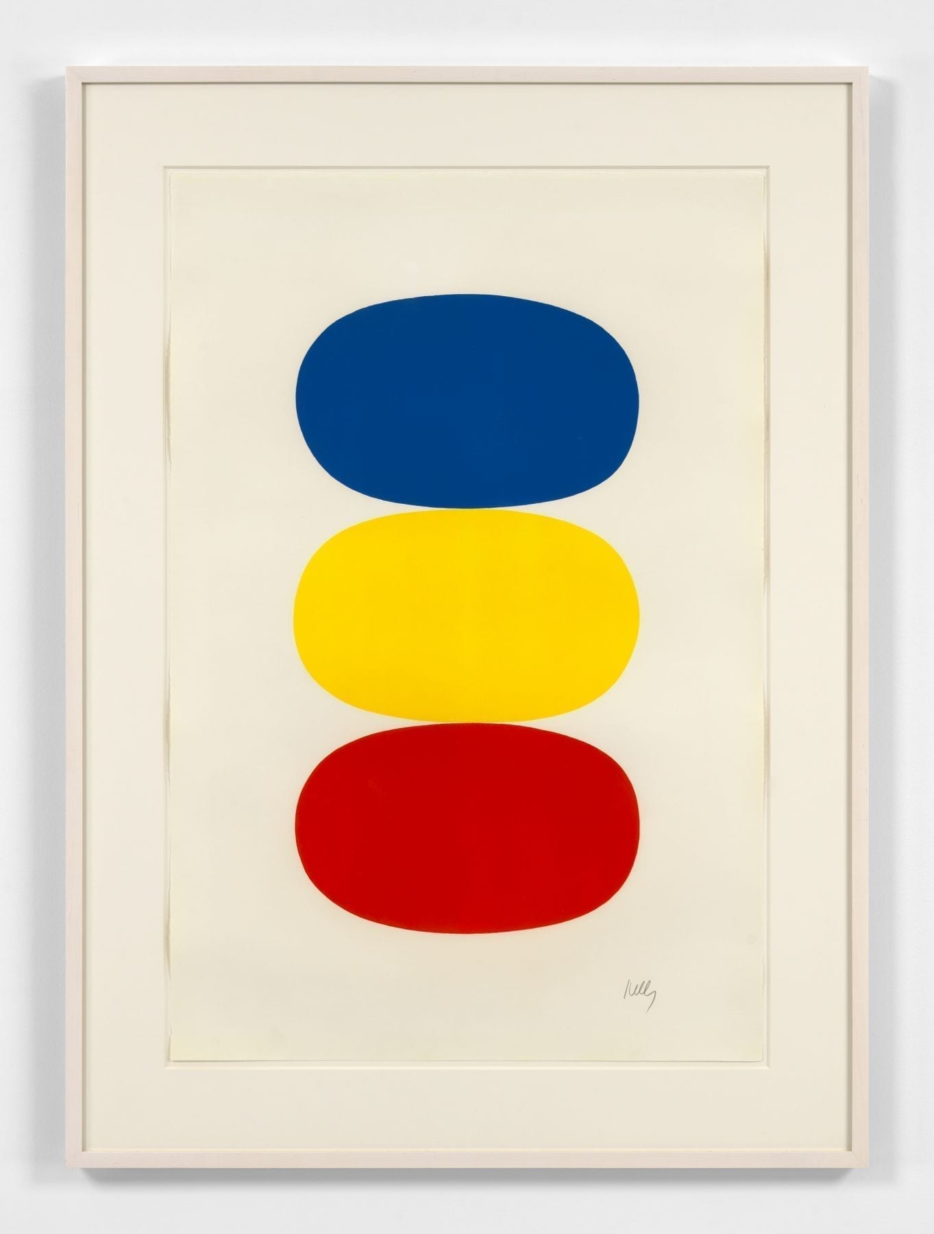 Blue and Yellow and Red-Orange, 1964-65