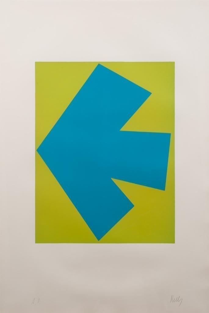 Blue over Green, 1964-65