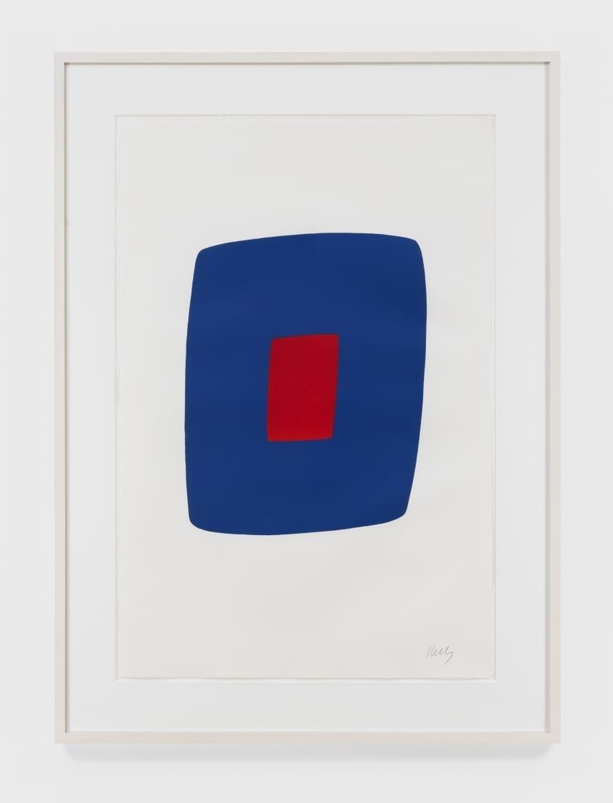 Dark Blue with Red, 1964-65