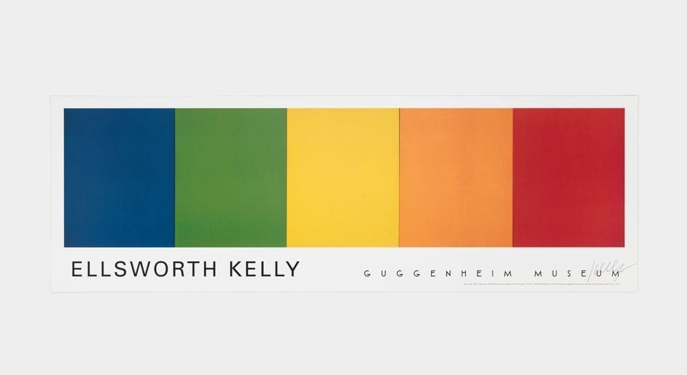 Ellsworth Kelly, Guggenheim Museum, NY, 1997