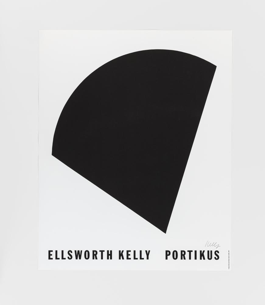 Ellsworth Kelly, Portikus (Black Curve), 1990