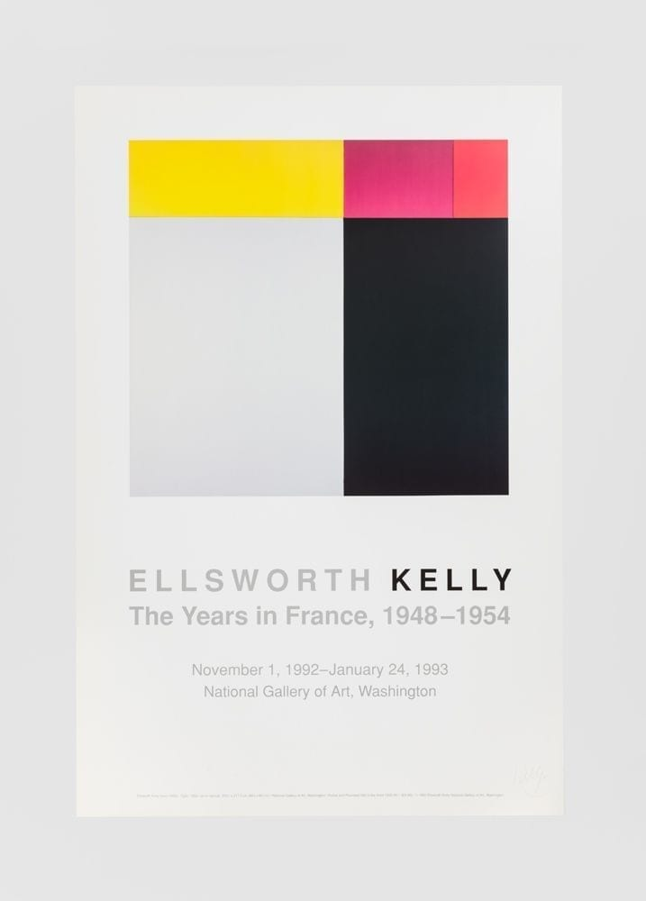 Ellsworth Kelly: The Years in France, 1948-54, 1992