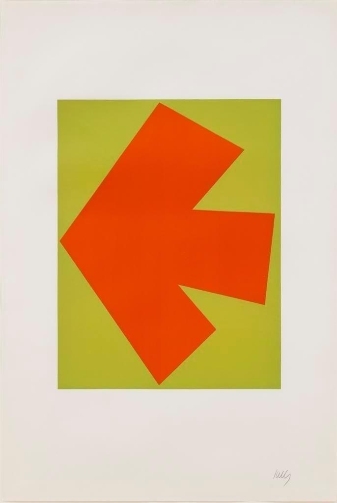 Orange over Green, 1964-65