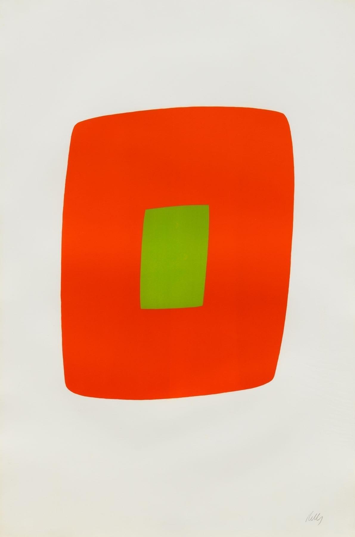 Orange with Green, 1964-65