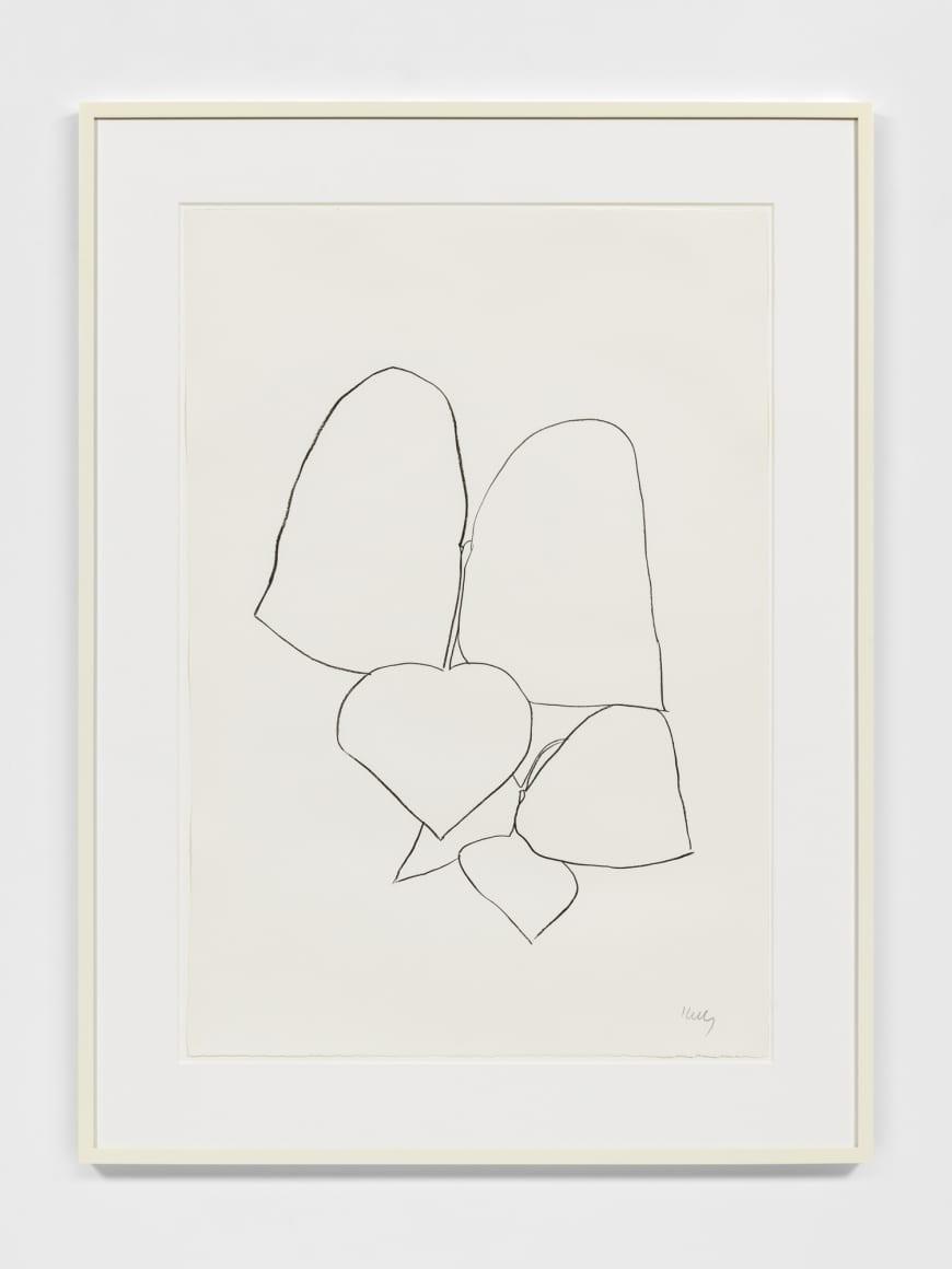 String Bean Leaves II, 1965-66