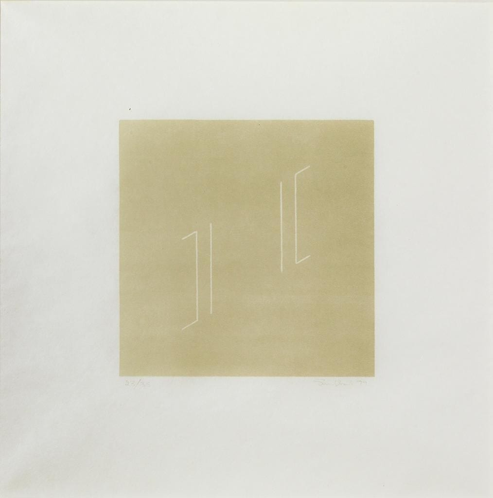 Untitled, 1979 Medium: Color reversal-lithograph