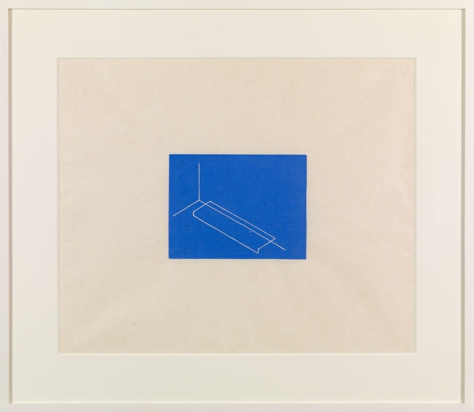 Untitled 1975 Medium: Linocut