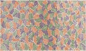 Jasper Johns, Scent, 1976, Lithograph, linocut, and woodcut