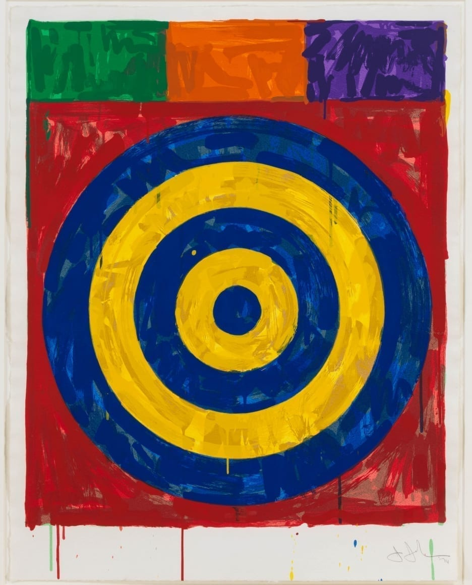 Jasper Johns, Target, 1974, Screenprint