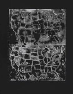 Jasper Johns, Two Maps II, 1966, Lithograph