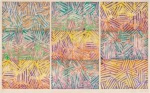 Jasper Johns, Usuyuki, 1982, Screenprint