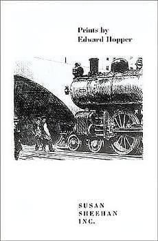 Prints by Edward Hopper. Bound brochure. 14 illustrations in black and white.
