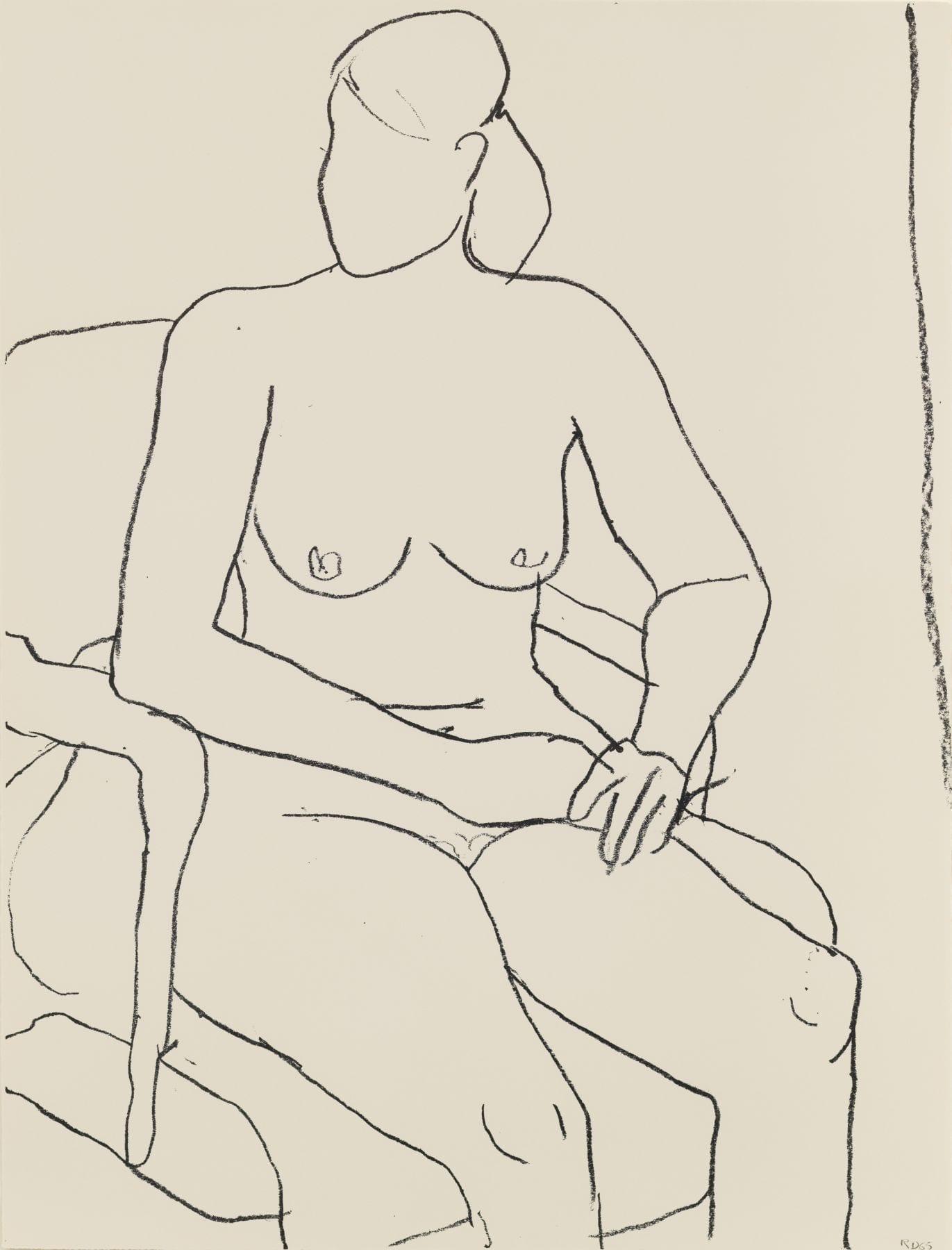 Seated Nude, 1965