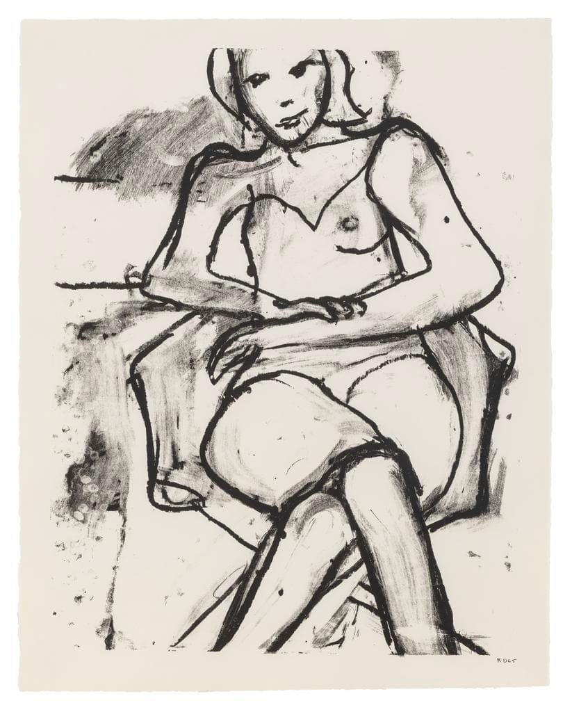 Seated Woman with Hands Crossed, 1965