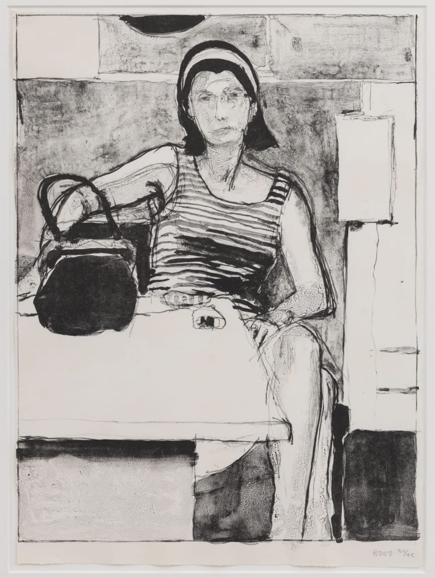 Woman Seated at a Table, 1967