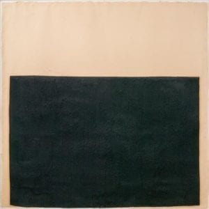 Richard Serra, Slow Weights, 1993, Paint stick on double laminated paper