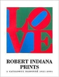 Robert Indiana Prints (hardcover)