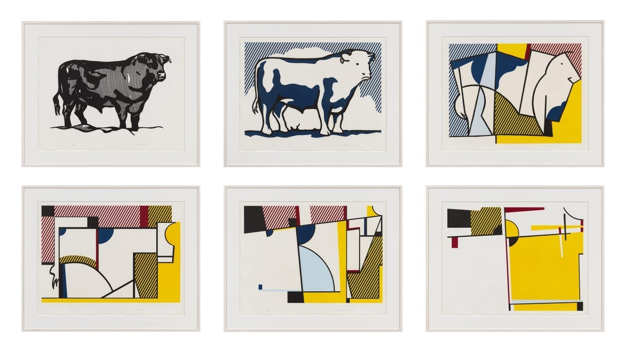 Bull Profile Series, 1973