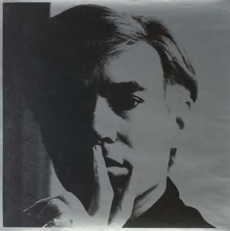 Andy Warhol, Self-Portrait, 1966, Offset lithograph, 23 x 23 inches