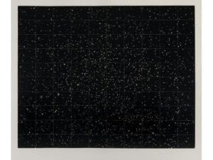 Strata, 1983 Medium: Mezzotint