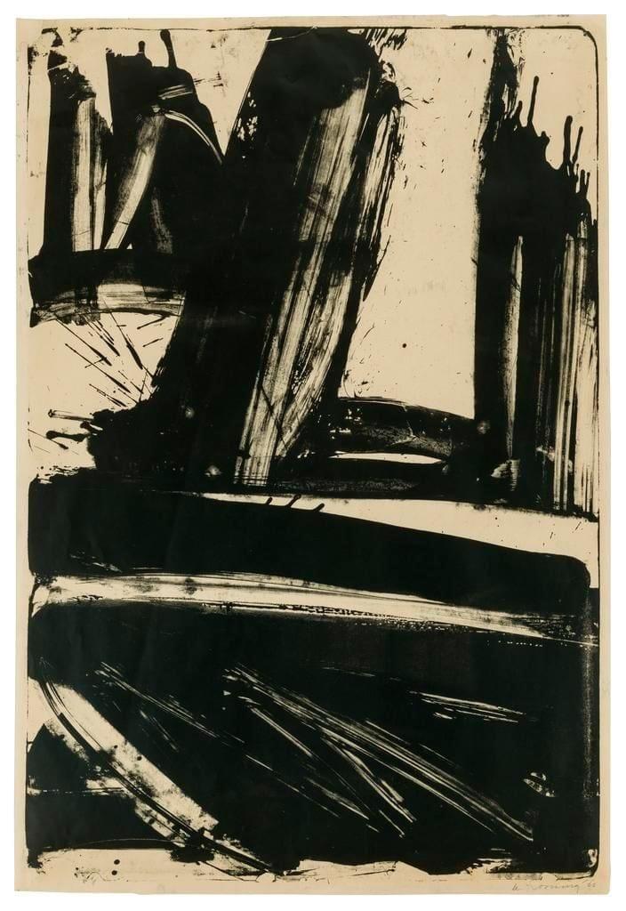 Litho #1 (Waves #1), 1960