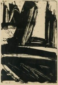 Willem de Kooning, Litho #1 (Waves #1), 1960, Lithograph